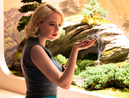 Emma Stone dans la série Maniac