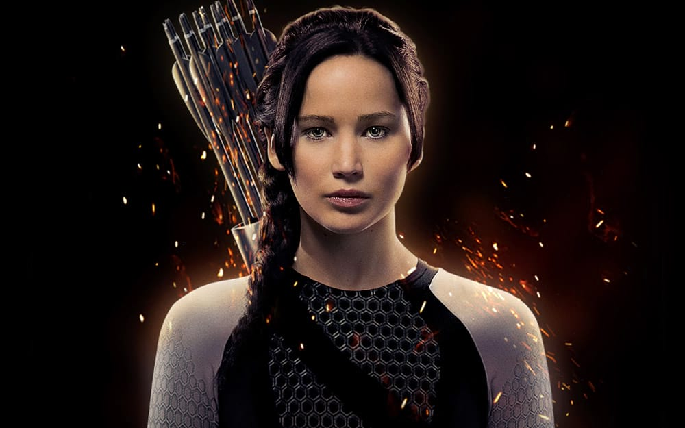 Hunger Games 2 : L'Embrasement, avec Jennifer Lawrence