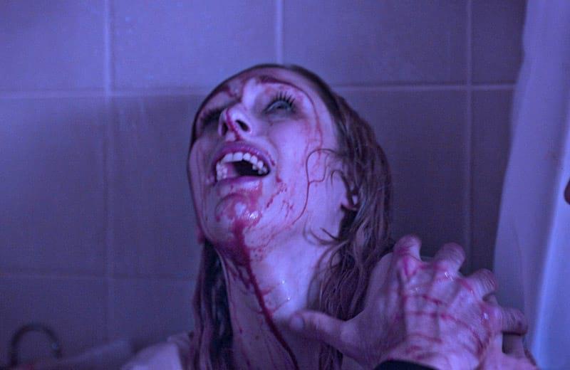 Scène de meurtre dans Room 205