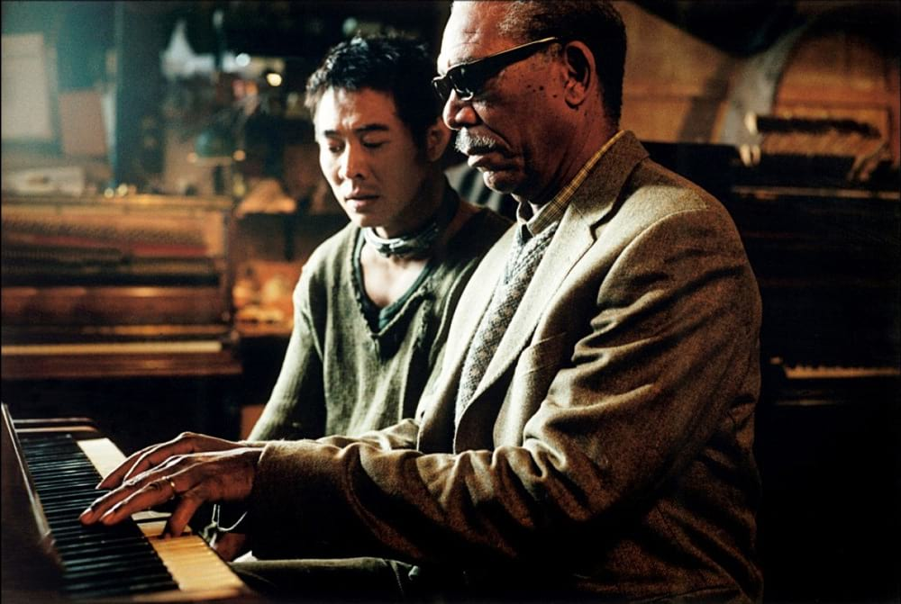 Jet Li et Morgan Freeman