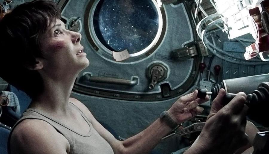 Gravity, avec Sandra Bullock