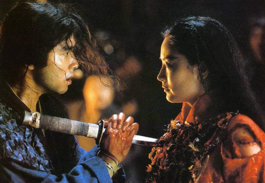 Leslie Cheung et Brigitte Lin (The Bride With White Hair)